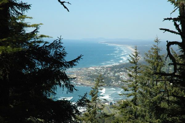 Beautiful Oregon Coast View from One of Our Lots of Yachats Land for Sale