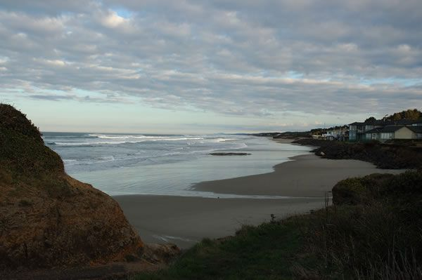 Beautiful Beach View from One of Our Lots of Yachats Land for Sale
