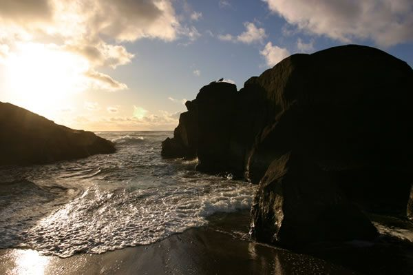Beautiful Ocean View from One of Our Creekside Yachats Lots for Sale